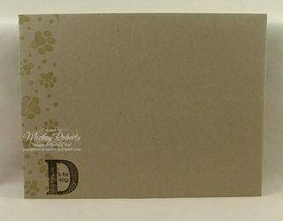 D_is_for_Dog_Envelope
