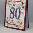 Number of Years -- Moms 80th Birthday Card