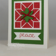 Christmas Quilt -- Peace