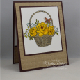 Blossoming Basket -- Here For You