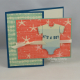Any Occasion -- It's A Boy (Gift Card Holder)