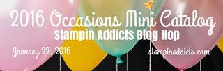 2016 Occasions Mini Catalog banner