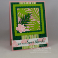 Tropical Chic -- Love and Thanks