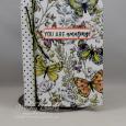 Amazing Life -- Covered Mini Compsition Book