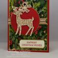 Dashing Deer -- Happiest Christmas Wishes