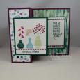 Varied Vases -- Birthday Wishes Z-Fold Card