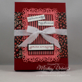 Gift Boxed Cards -- Ornate Thanks with Flower & Field