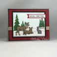 Peaceful Deer -- Merry Christmas